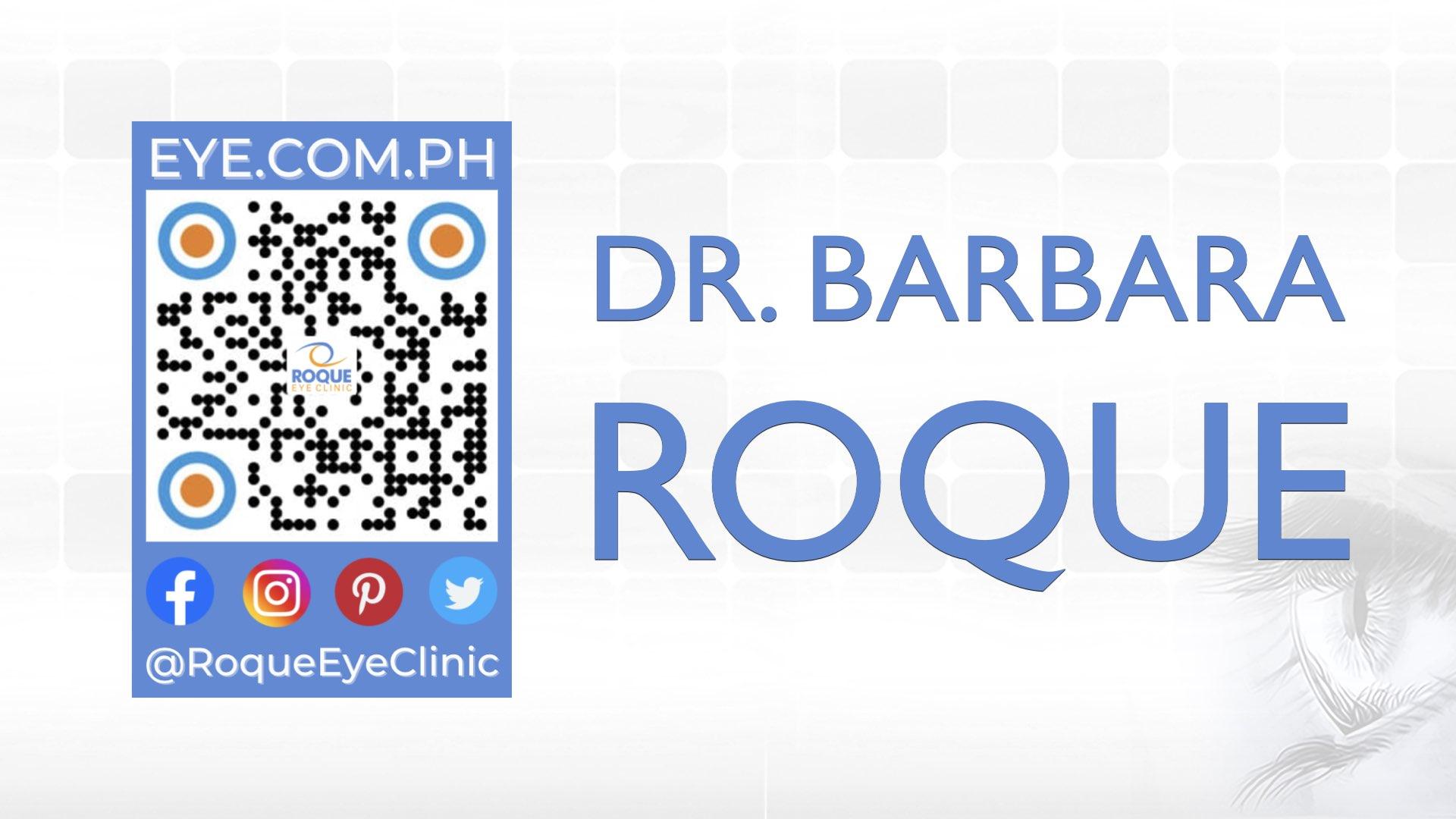 REC QR 2021 16x9 Dr Barbara Roque