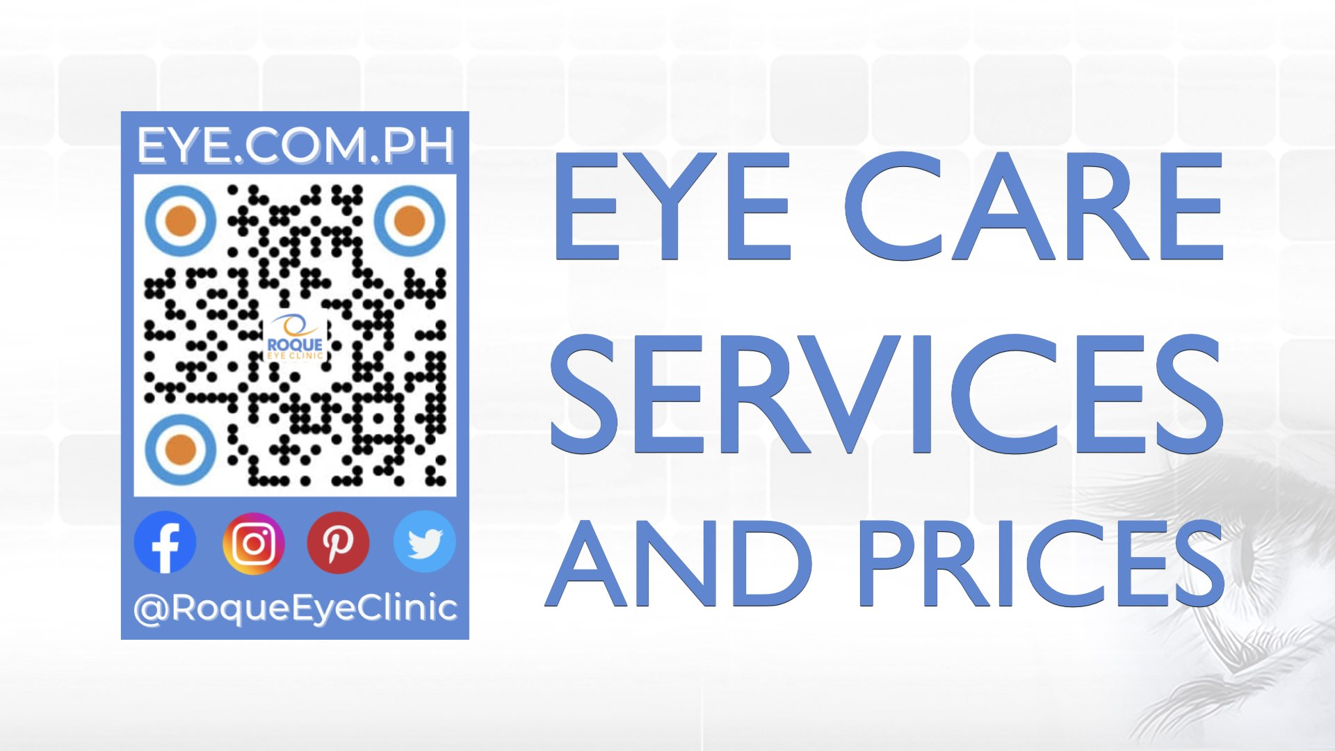 REC QR 2021 16x9 Eye Care Services and Prices