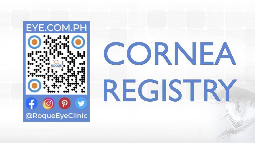REC QR 2021 16x9 Cornea Registry