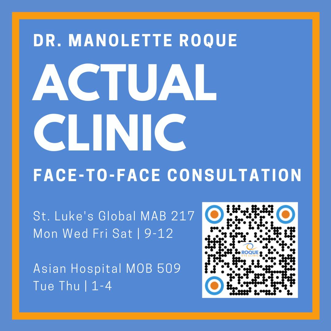 Dr. Manolette Roque (Cataract, LASIK, Uveitis)